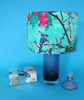 Tailor Made Fabric Lampshade